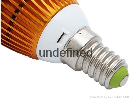 3w E14 bulb LED Candle with CE RoHS Approval light bulb  5