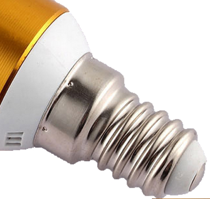 3 watt E14  LED Candle light bulb LED candle lamps  2