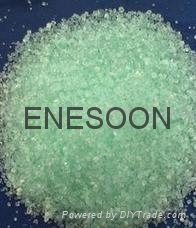 Ferrous sulfate for industrial waste