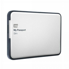 Western Digital WD My Passport Slim 2TB Portable External HDD Hard Drive Disk