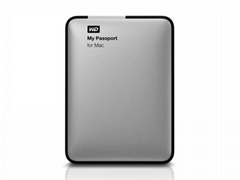 Western Digital WD My Passport for Mac 500GB External HDD Hard Drive Disk