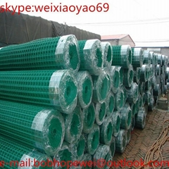 Garden use Galvanized and PVC Coated Holland wire mesh