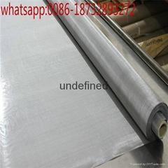 100 micron bright pure tungsten wire mesh for light filtering