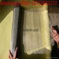 100 micron bright pure tungsten wire mesh for light filtering 5