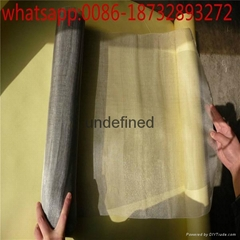 tungsten wire mesh for electromagnetic radiation shield