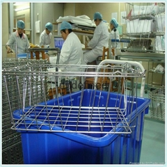 Stainless steel Disinfection wire baskets for Medical