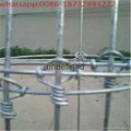 7ft height hot-dipped galvanized deer