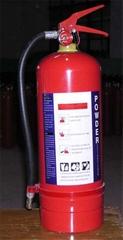 portable dry powder extinguisher