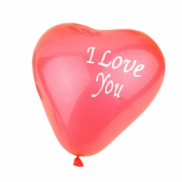 High quality natural latex heart balloons 2