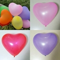 High quality natural latex heart balloons 5