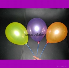 10inch Metallic Color Printed Ballons