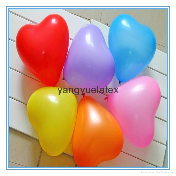 Red Heart Latex Balloons for Wedding 1