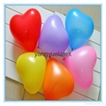 Red Heart Latex Balloons for Wedding