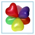 Wedding party balloons Heart balloons 2