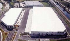 1.2mm White Grey PVC Waterproof Membrane