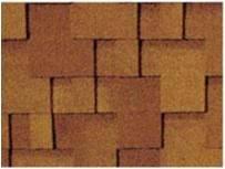 Asphalt Fiberglass Roofing Tiles