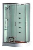 Acrylic Tempered Glass Steam Shower (TS7020)