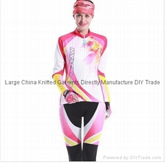 Wholesale Hot Sale China Custom Cycling Clothing Women Sublimated Cycling Jersey