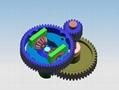 定制扭矩转速微型齿轮箱_无杂声无噪音大扭力齿轮箱 4
