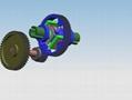 定制扭矩转速微型齿轮箱_无杂声无噪音大扭力齿轮箱 5