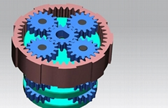 Custom design and manufacture of planetary gearboxes