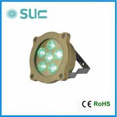 High Brightness 6W Brass Underwater LED