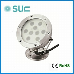Hot Sale Class III Stainless Steel LED Underwater Light