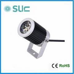 New Style 3W Aluminium Alloy Waterproof LED Spot Light (SLS-21)