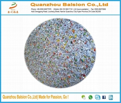 High quality colorful plastic blasting media material