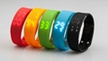 Multi-function USB LED 3D Smart WristBand Watch Time Calorie 3D Pedometer 2