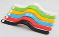 Multi-function USB LED 3D Smart WristBand Watch Time Calorie 3D Pedometer 5