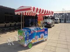 冰淇淋車可流動可店面