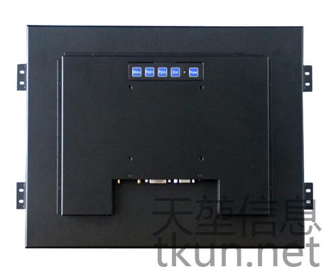 TKUN供應15寸T150XGA嵌入式高精度5線電阻工業觸摸屏液晶顯示器 2