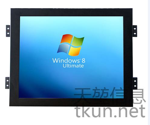 TKUN供應15寸T150XGA嵌入式高精度5線電阻工業觸摸屏液晶顯示器 3