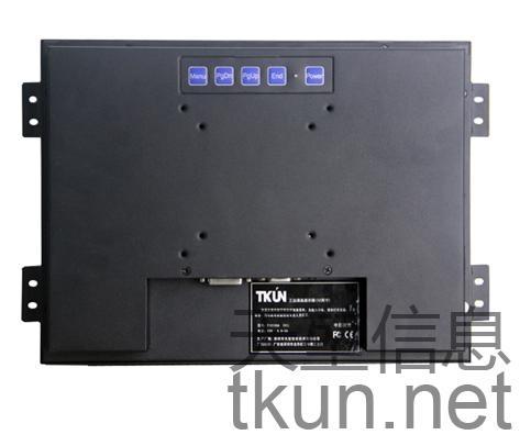 12.1寸T121SVGA嵌入式觸控高精度電阻觸摸屏工業觸控顯示器 4