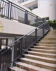 广州锌钢楼梯栏杆