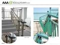廣州鋅鋼鐵藝樓梯護欄