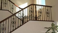 海南锌钢楼梯护栏