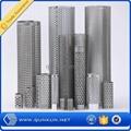 ga  anized perforated metal panel