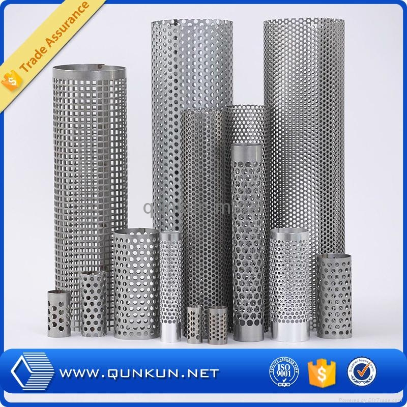 zinc coated perforated metal panel 2