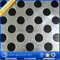 zinc coated perforated metal panel