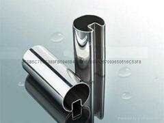 佛山永辰鑫专业生产201#304不锈钢凹槽管