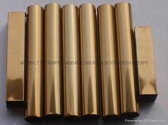 佛山永辰鑫專業生產201#304#不鏽鋼彩色管