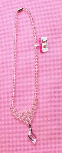 福宝天然白水晶项链 1