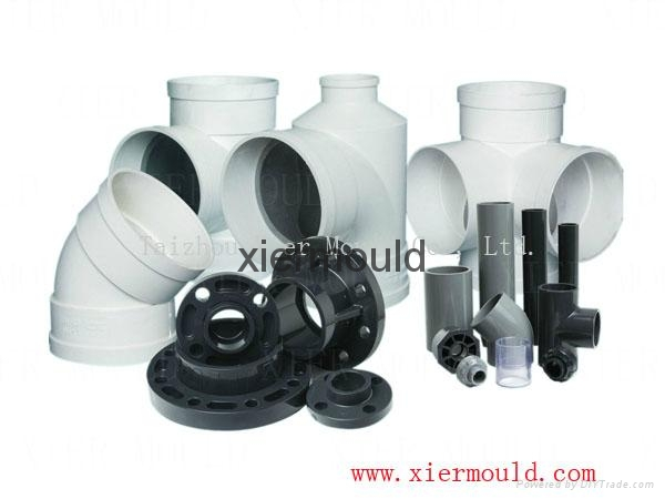 Plastic mould for Pipe fitting  2