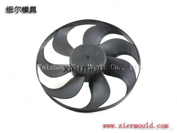 Radiator fan shroud mould 3