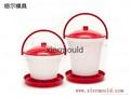 Plastic chicken feeder drinker mould 3
