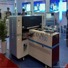 100000点/小时国产高精度视觉led日光灯管贴片机