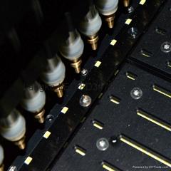 全球首創多流道散裝LED振動盤供料機,透鏡振動盤