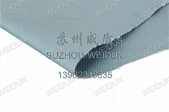 silicon coated fiberglass cloth/fire blanket